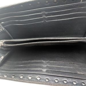 Valentino Bags - Valentino Black Rockstud Leather Wallet
